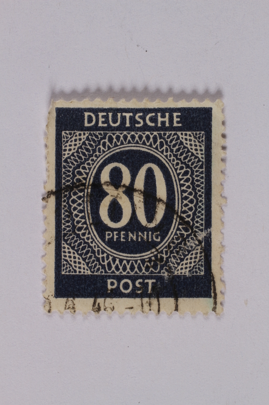 1992.221.202 front Postage stamp