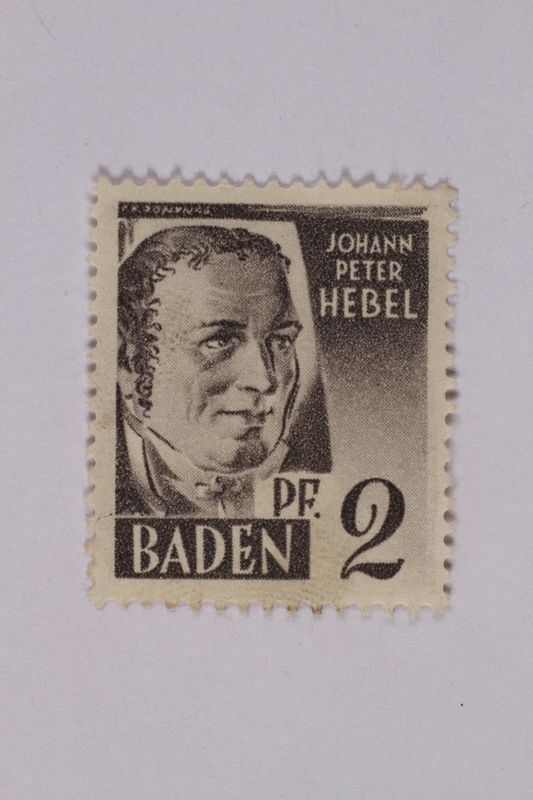 1992.221.206 front Postage stamp