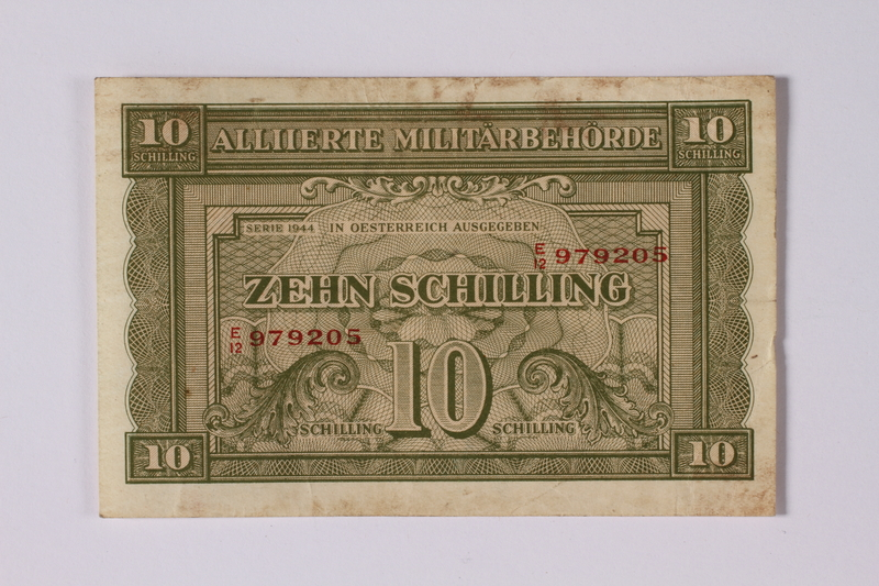 1992.221.21 front 10 schilling note