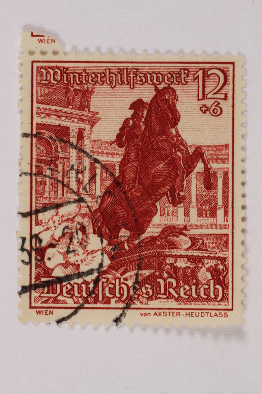 1992.221.213 front Postage stamp
