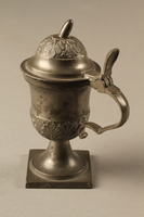 2018.613.4 side c Pewter mustard pot owned by Otto Frank  Click to enlarge