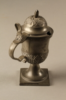 2018.613.4 side d Pewter mustard pot owned by Otto Frank  Click to enlarge