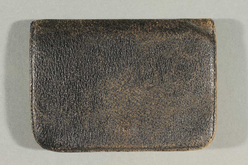2018.613.3 back Coin purse owned by Otto Frank