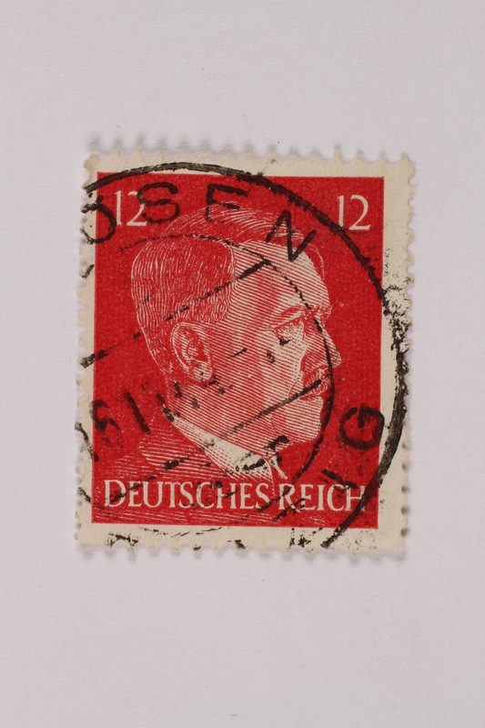 1992.221.225 front Postage stamp