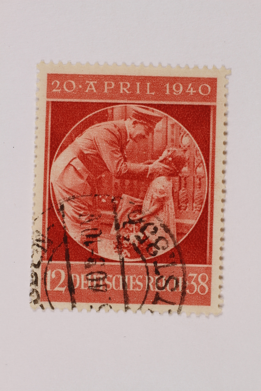 1992.221.235 front Postage stamp