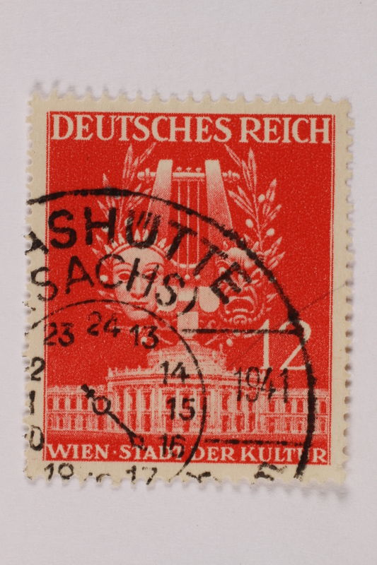 1992.221.241 front Postage stamp