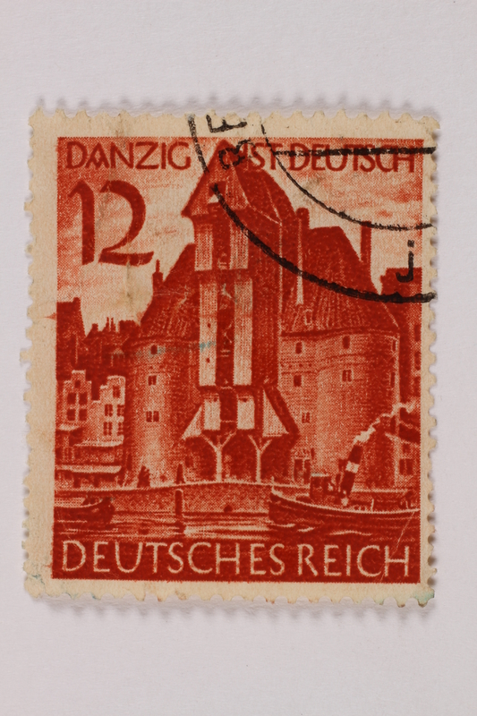 1992.221.242 front Postage stamp
