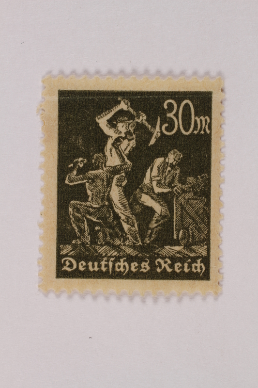 1992.221.262 front Postage stamp