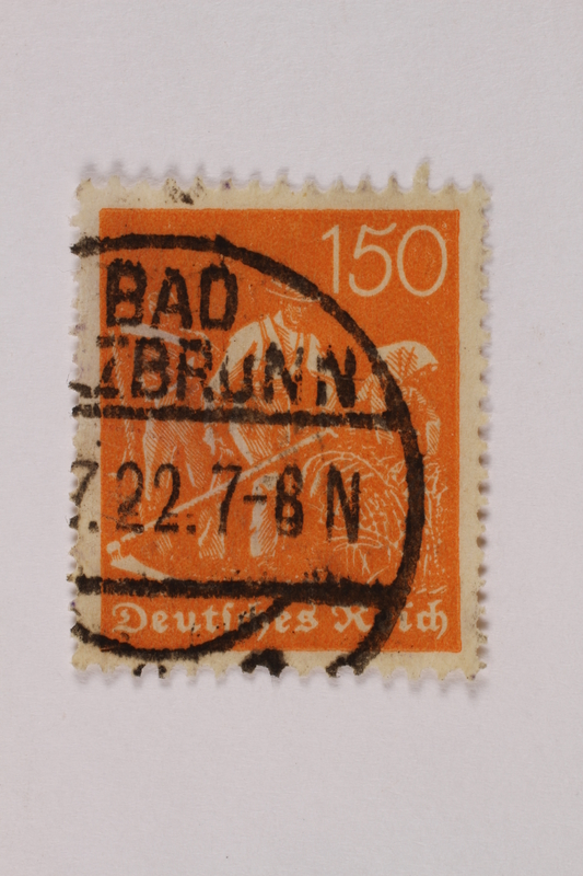 1992.221.270 front Postage stamp