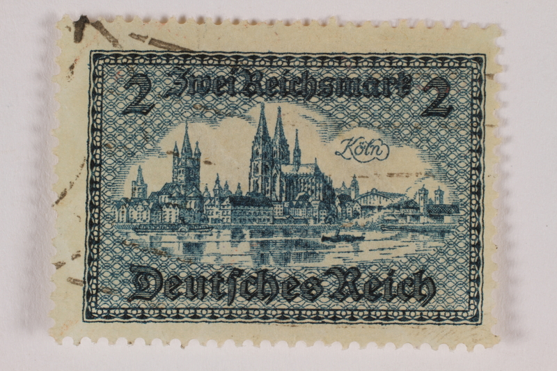 1992.221.277 front Postage stamp