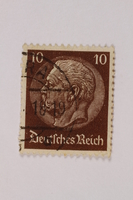 1992.221.283 front Postage stamp  Click to enlarge