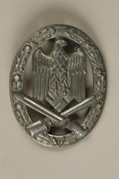 1992.221.3 front Third Reich medal  Click to enlarge