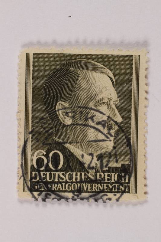 1992.221.301 front Postage stamp