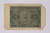 1992.221.37 back Money  Click to enlarge