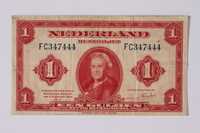 1992.221.39 front Money  Click to enlarge