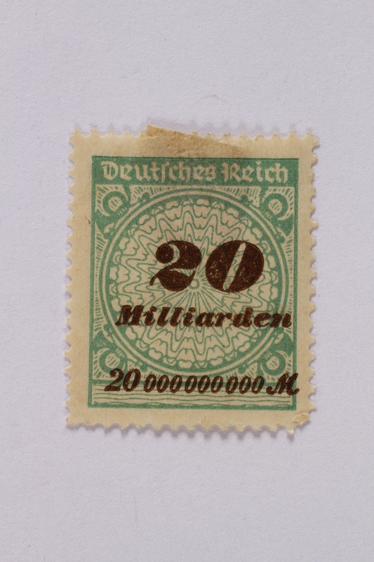 1992.221.53 front Postage stamp