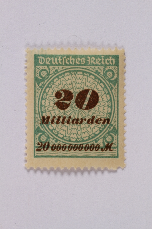 1992.221.54 front Postage stamp