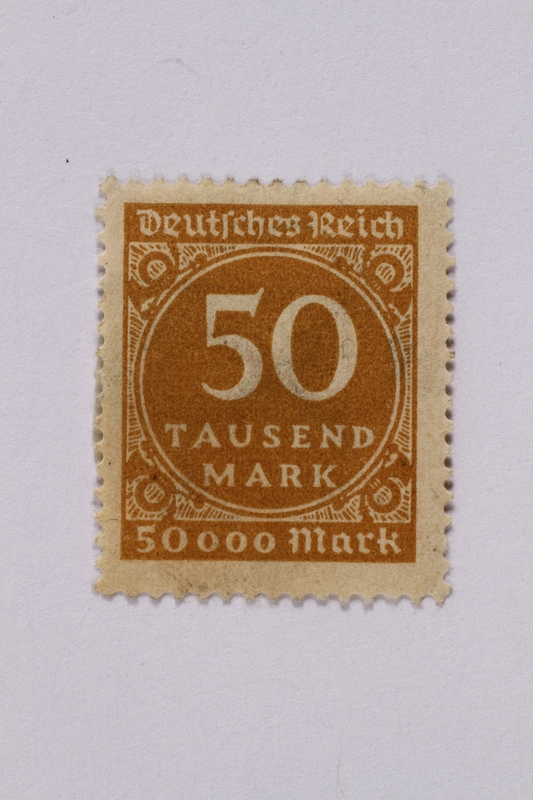1992.221.55 front Postage stamp