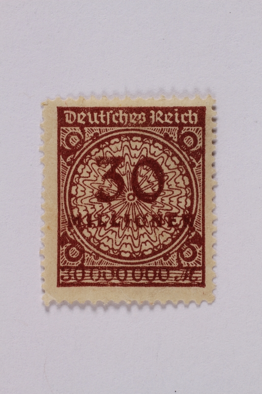 1992.221.60 front Postage stamp