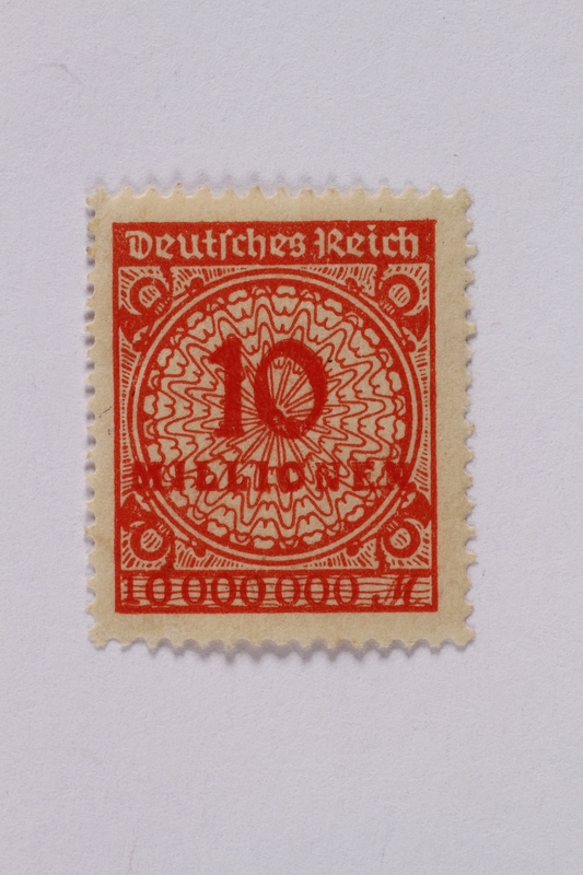 1992.221.63 front Postage stamp