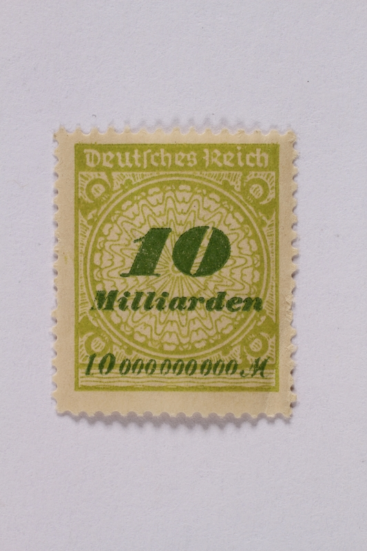 1992.221.65 front Postage stamp