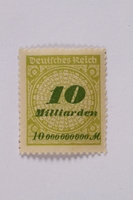 1992.221.66 front Postage stamp  Click to enlarge