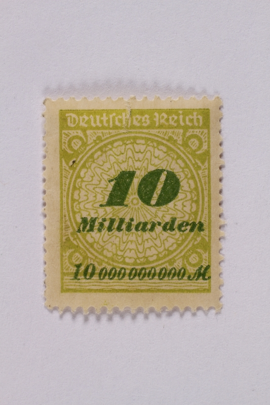 1992.221.67 front Postage stamp