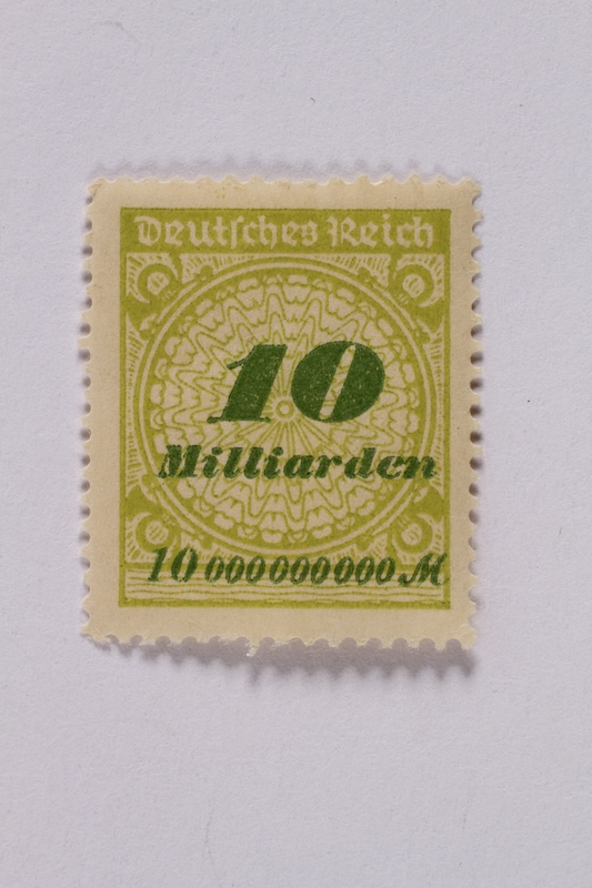 1992.221.68 front Postage stamp
