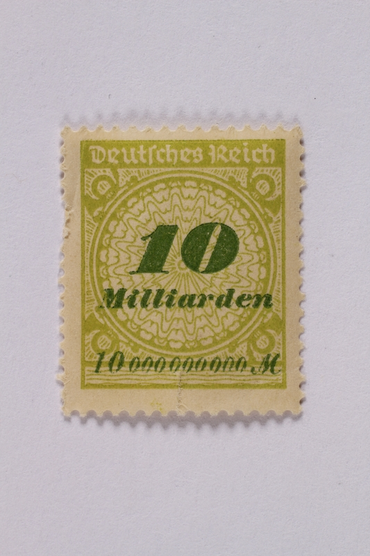1992.221.69 front Postage stamp