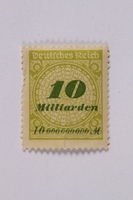1992.221.69 front Postage stamp  Click to enlarge