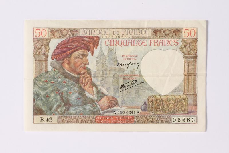 1992.221.7 front Money