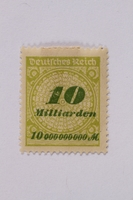 1992.221.70 front Postage stamp  Click to enlarge