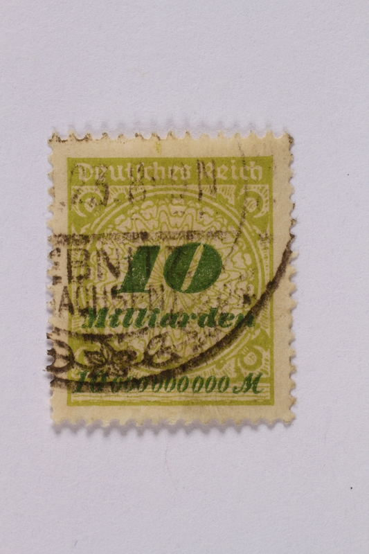 1992.221.72 front Postage stamp
