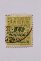 1992.221.72 front Postage stamp  Click to enlarge