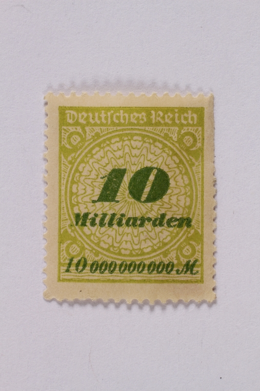 1992.221.73 front Postage stamp
