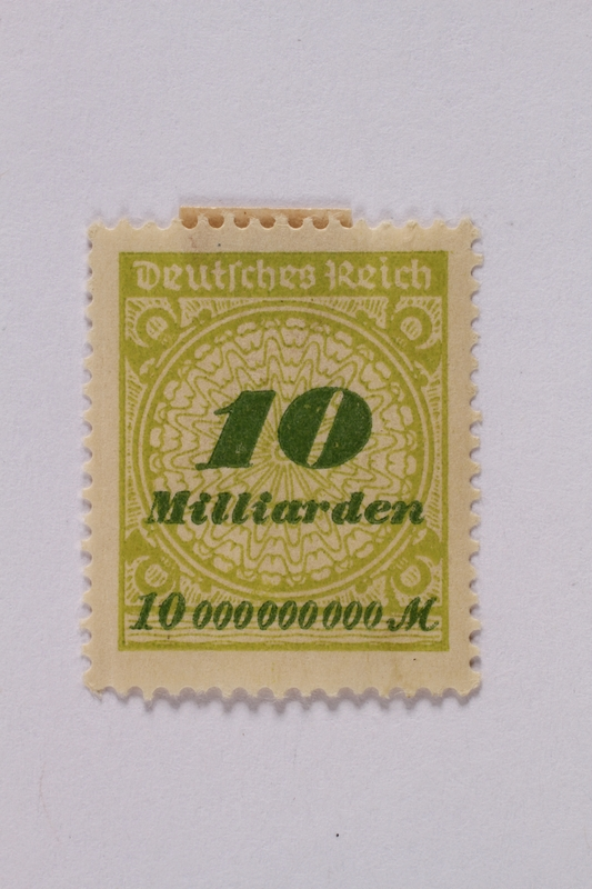1992.221.74 front Postage stamp