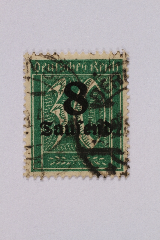 1992.221.82 front Postage stamp