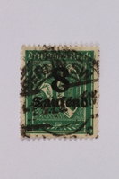 1992.221.83 front Postage stamp  Click to enlarge