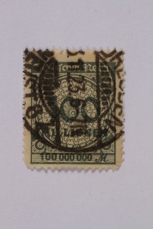 1992.221.85 front Postage stamp
