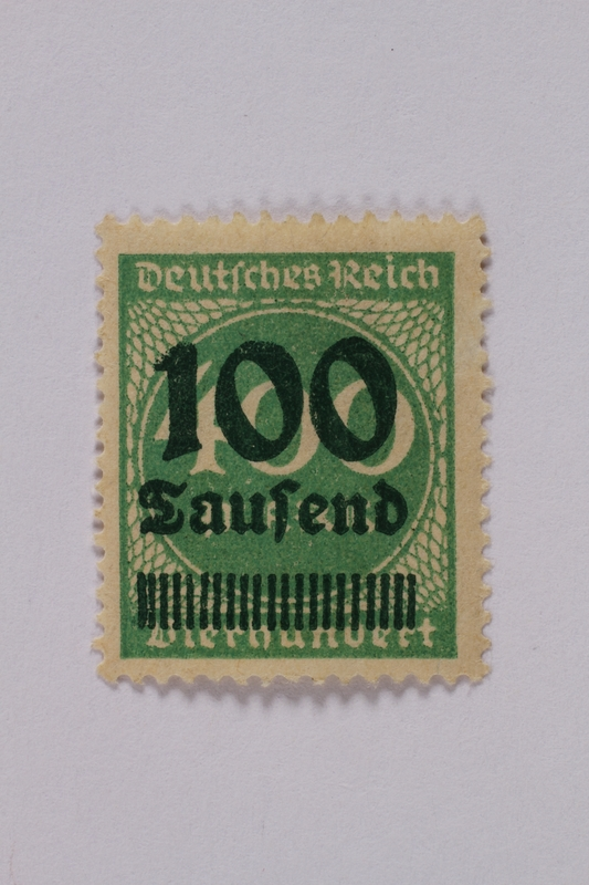 1992.221.86 front Postage stamp