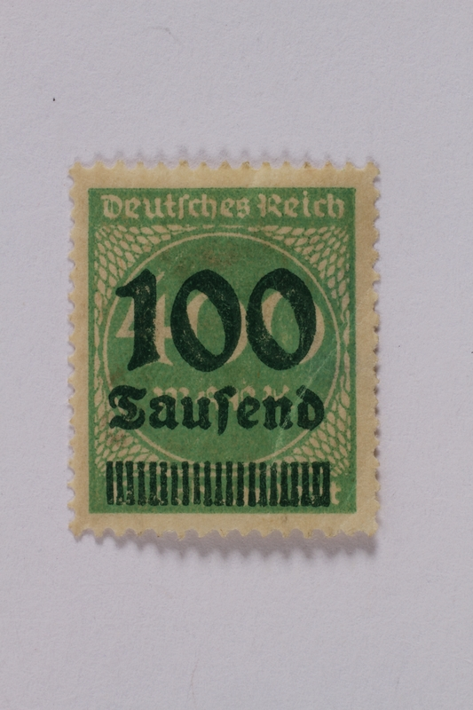 1992.221.87 front Postage stamp