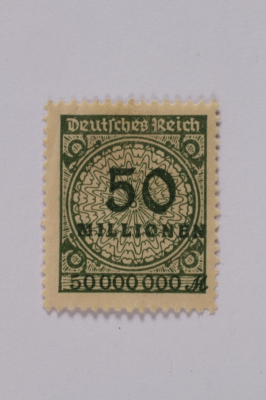 1992.221.89 front Postage stamp