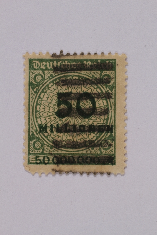 1992.221.90 front Postage stamp