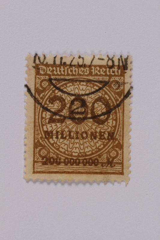 1992.221.99 front Postage stamp