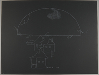 1992.223.41 front Premonitory drawing by Bencjon Benn  Click to enlarge