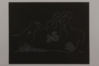 1992.223.8 front Premonitory drawing by Bencjon Benn  Click to enlarge