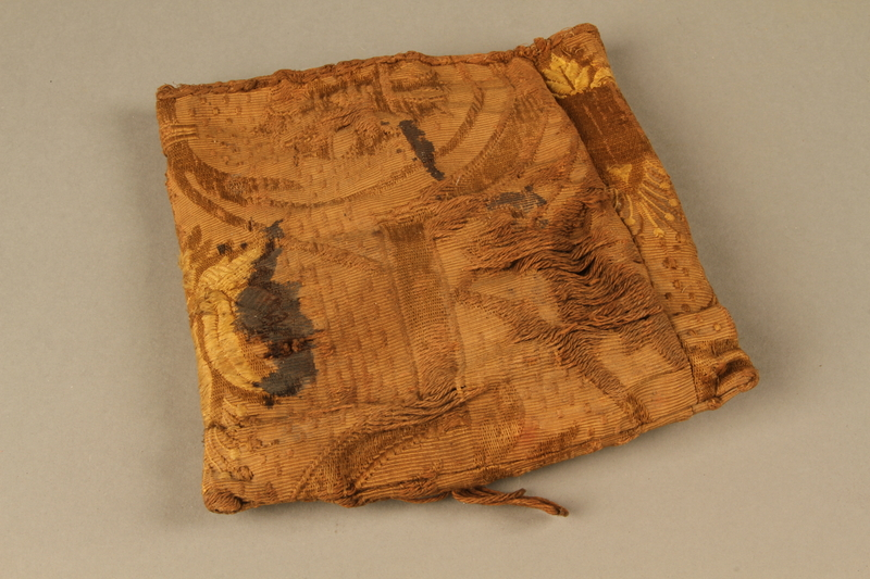 2006.516.5 c front Pair of Tefillin and pouch owned by a Romanian Jewish concentration camp survivor