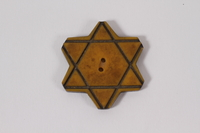 1992.026.11 front Star of David button  Click to enlarge