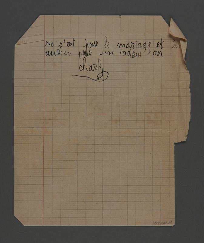2002.420.28 back Handmade stamped letter