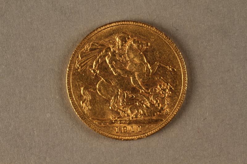 2019.81.2 back 1911 British gold coin